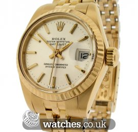 Rolex Vintage Ladies Datejust 18ct