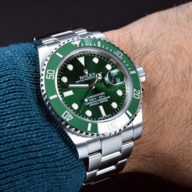 Green Submariner Rolex