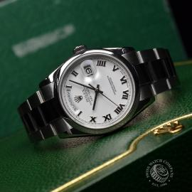 RO20089S Rolex Day Date 18ct White Gold Close10