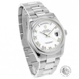 RO20089S Rolex Day Date 18ct White Gold Dial