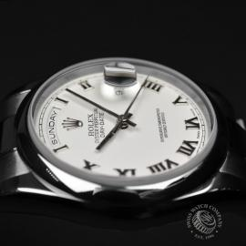 RO20089S Rolex Day Date 18ct White Gold Close8