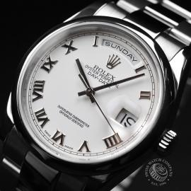 RO20089S Rolex Day Date 18ct White Gold Close2