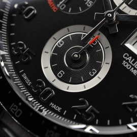 TA21052S Tag Heuer Carrera Chronograph Day Date Close6