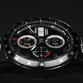 TA21052S Tag Heuer Carrera Chronograph Day Date Close8