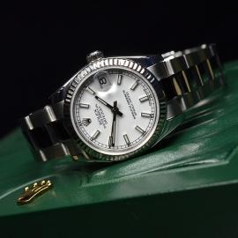 RO21180S Rolex Ladies Datejust Midsize Close11