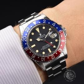 RO21200S Rolex Vintage GMT Master Wrist