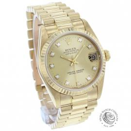 RO21249S Rolex Datejust 18ct Midsize Dial 1