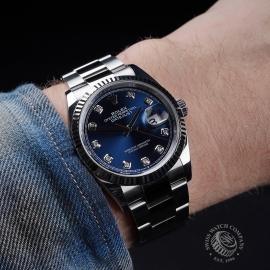 RO21660S Rolex Datejust 36mm Wrist