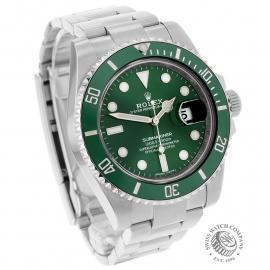 RO21730S Rolex Submariner Date Green Bezel Dial 1