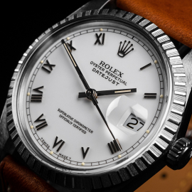 RO1916P Rolex Vintage Datejust 36 Close2