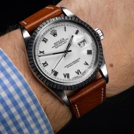 RO1916P Rolex Vintage Datejust 36 Wrist