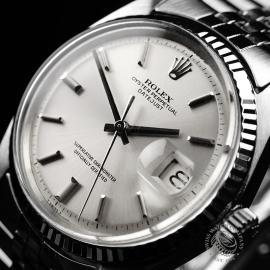 RO22030S Rolex Vintage Datejust 36 Close2