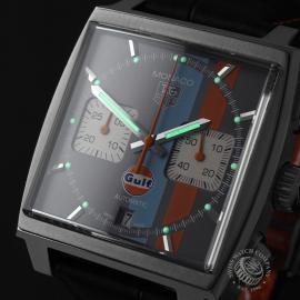 TA21997S Tag Heuer Monaco Calibre 12 'Gulf Edition'  Close1