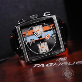 TA21997S Tag Heuer Monaco Calibre 12 'Gulf Edition'  Close10