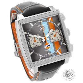 TA21997S Tag Heuer Monaco Calibre 12 'Gulf Edition'  Dial