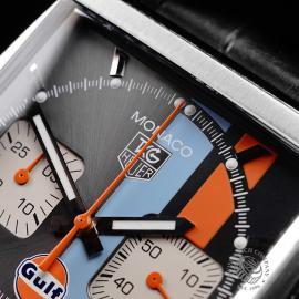 TA21997S Tag Heuer Monaco Calibre 12 'Gulf Edition'  Close3 1