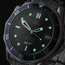 OM21861S Omega Seamaster '007 40th Anniversary Edition' Close1