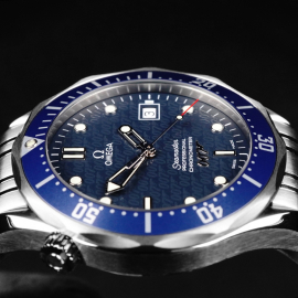OM21861S Omega Seamaster '007 40th Anniversary Edition' Close6