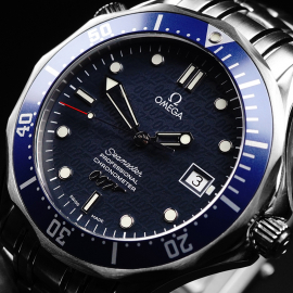 OM21861S Omega Seamaster '007 40th Anniversary Edition' Close2