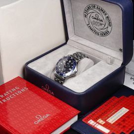 OM21861S Omega Seamaster '007 40th Anniversary Edition' Box