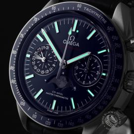 OM1923P Omega Speedmaster Moonphase Co-Axial Close1