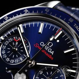 OM1923P Omega Speedmaster Moonphase Co-Axial Close3