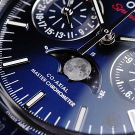 OM1923P Omega Speedmaster Moonphase Co-Axial Close4 1