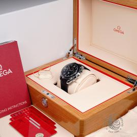 OM1923P Omega Speedmaster Moonphase Co-Axial Box