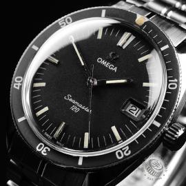 OM21404S Omega Vintage Seamaster 120 Close2