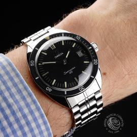 OM21404S Omega Vintage Seamaster 120 Wrist
