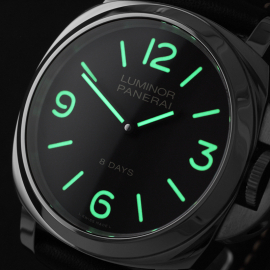 PA22112S Panerai Luminor Base 8 Days Close1