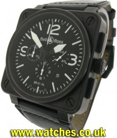 Bell & Ross BR 01-94 Chronograph Carbon
