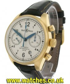 Bell & Ross Vintage 126 18ct Yellow Gold