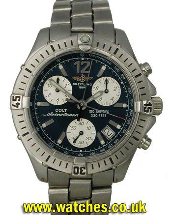 228e754b49b Breitling Colt Chrono Ocean Watch - A53350 - Ref: - Breitling ...