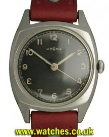 Lemania Vintage Military Watch