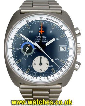 Omega Vintage Seamaster Chronograph Calibre 1040 Watch St 176 0007
