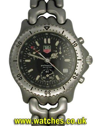 6741309eb33 Tag Heuer SEL Professional Chronograph Watch - CG 1110 - 0 - Ref ...