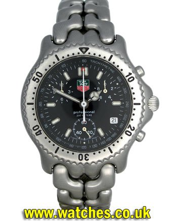 9d152414ea9 Tag Heuer SEL Professional Chronograph Watch - CG1110 - Ref: - Tag ...