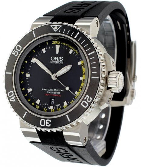 4bcbfb44a Oris Aquis Depth Gauge Watch - 01 733 7675 4154-Set MB - Ref: - Oris ...