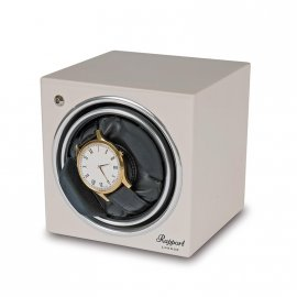 Rapport EVO4 Cube Watch Winder Glacier White