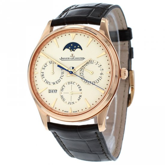 Jaeger LeCoultre Master Ultra Thin Perpetual Pink Gold