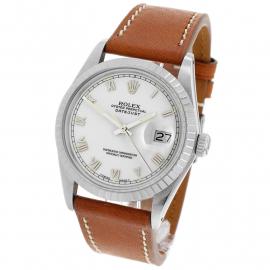 RO1916P Rolex Vintage Datejust 36 Back