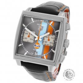 TA21997S Tag Heuer Monaco Calibre 12 'Gulf Edition'  Back