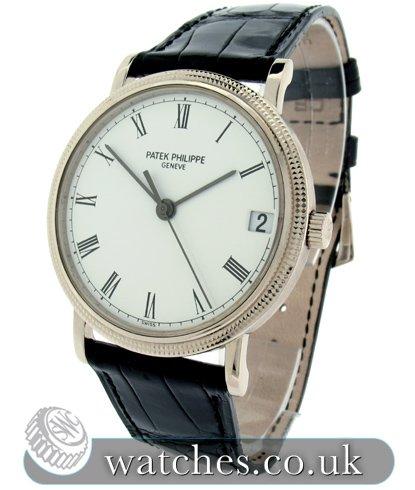 958be395278 Patek Philippe Calatrava White Gold Watch - 3802 200 - Ref  PK ...