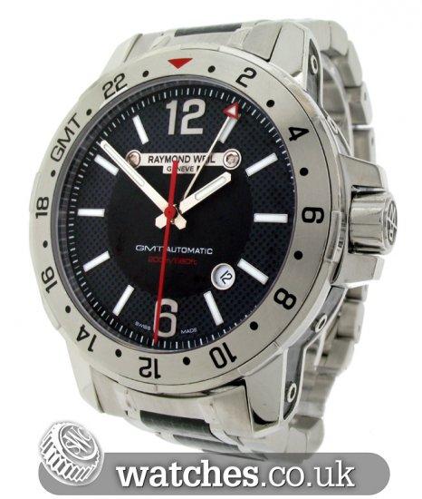 Raymond Weil Nabucco Gmt Watch 3800 Scf 05207 Ref Rw 11528s