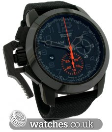 Graham Chronofighter Oversize Black Forest