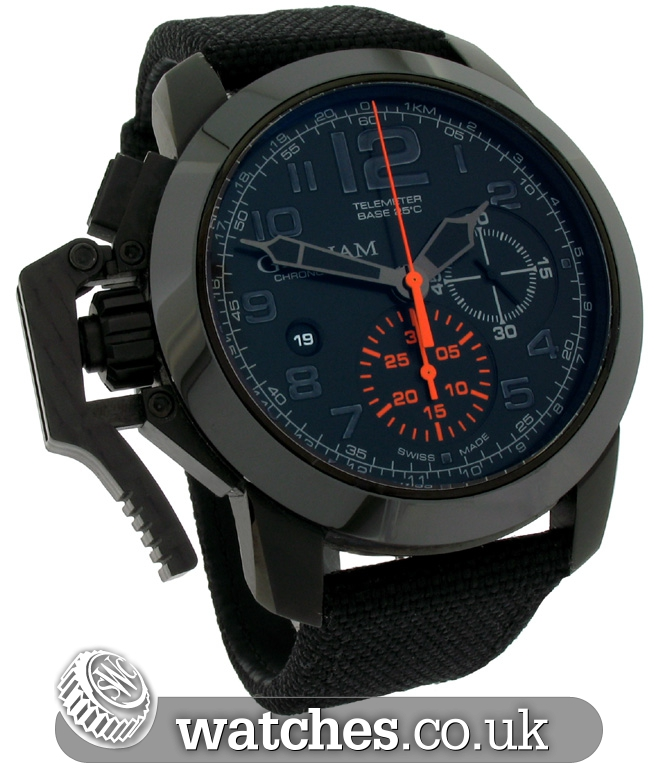 chronofighter watch s graham trigger watches men rac model zm