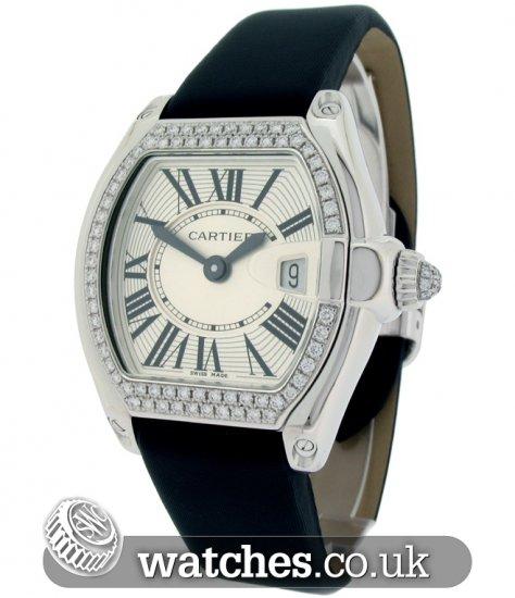 12cf62993ff Cartier Ladies Roadster 18ct White Gold Watch - WE500260 - Ref  CA ...