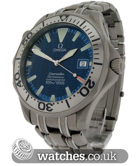Omega Seamaster Professional Titanium Watch - 2231.80.00 - Ref  OM ... 17fbd97ae1b5