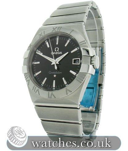 e0ddb45b292a9 Omega Constellation Quartz Watch - 123.10.35.60.01.001 - Ref ...